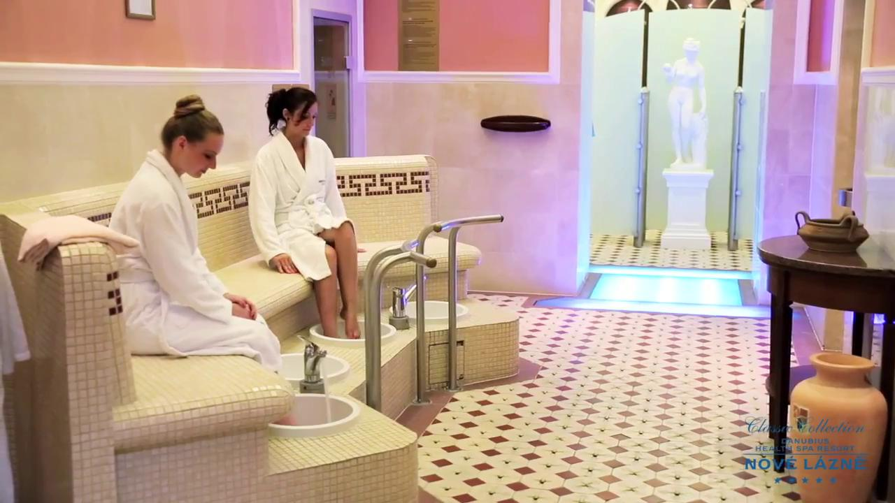 Video: Health Spa Resort Nové Lázně *****