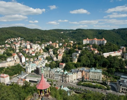Karlovy Vary / Carlsbad - The Most Famous Czech Health SPA