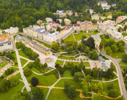 Marianske Lazne / Marienbad - Unique Health SPA Town