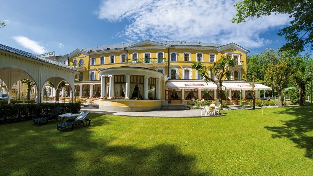 Hotel curativo Belvedere  - Terme di Frantiskovy Lazne