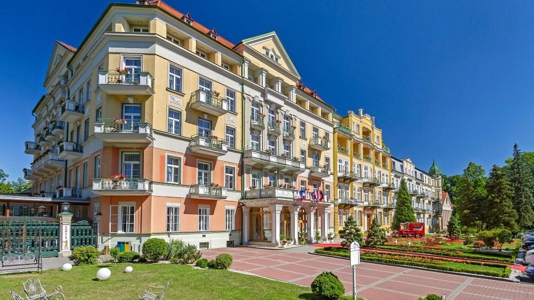 Hotel curativo Balneario Františkovy Lázně - Pawlik-Isis - Frantiskovy Lazne