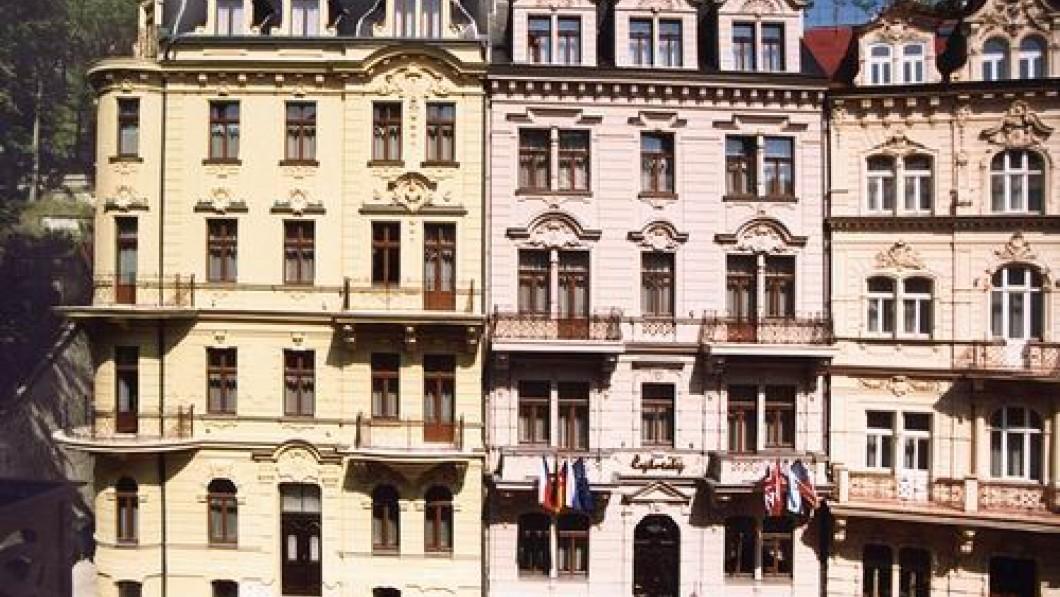 Санаторий Hotel Čajkovskij - курорт Карловы Вары/Каrlovy Vary
