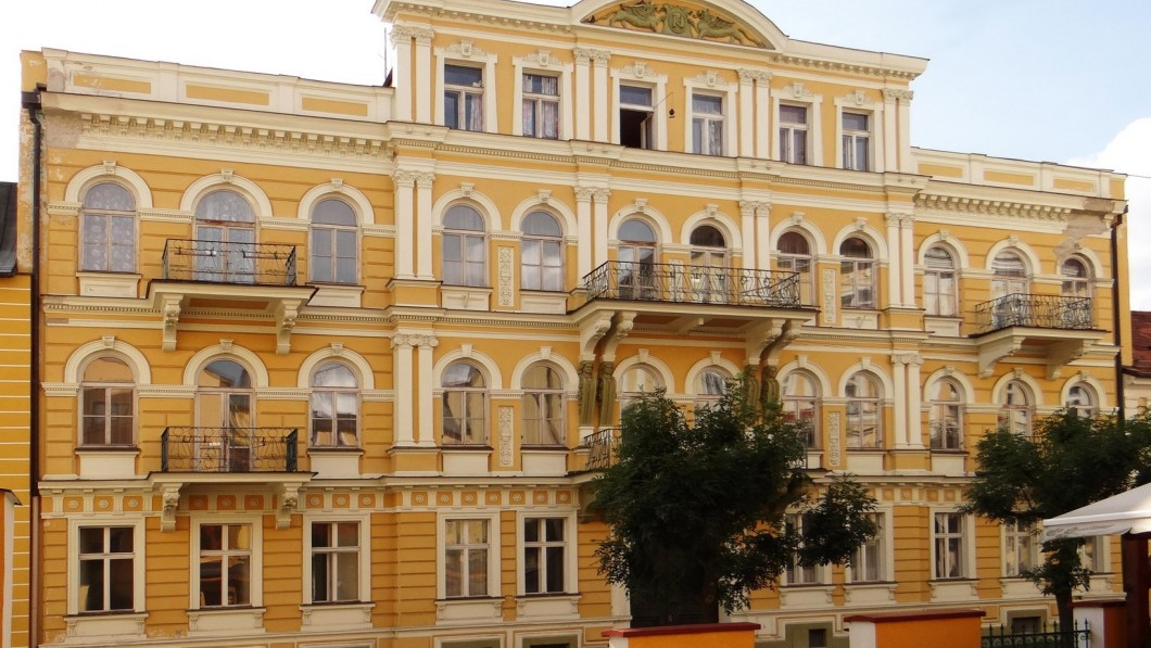 Hotel curativo Istituto termale Luna (Lázeňský ústav Luna) - Terme di Frantiskovy Lazne