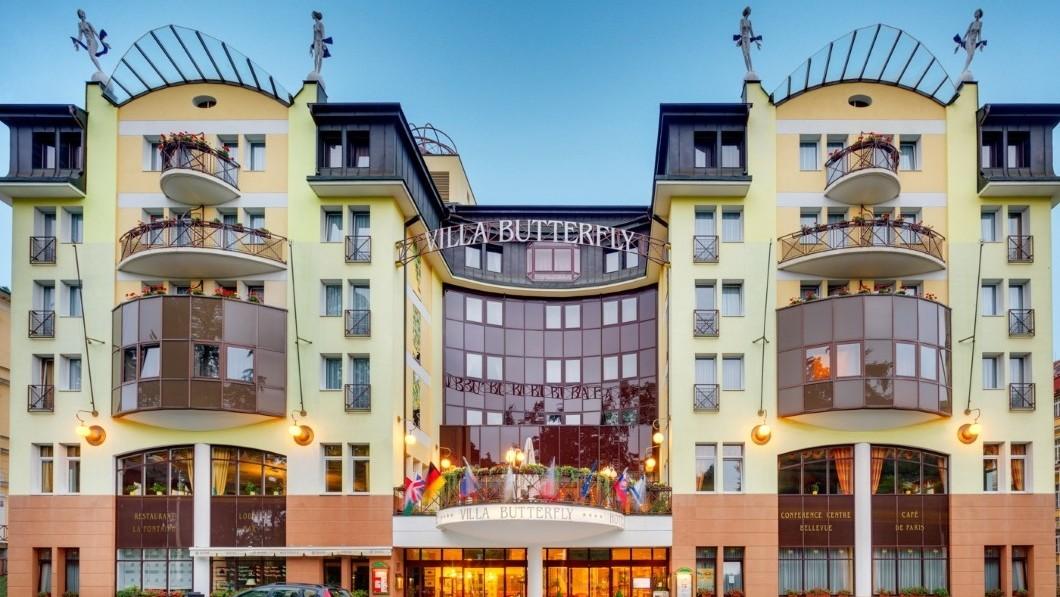 Curative Hotel Butterfly Villa  - Marianske Lazne Spa