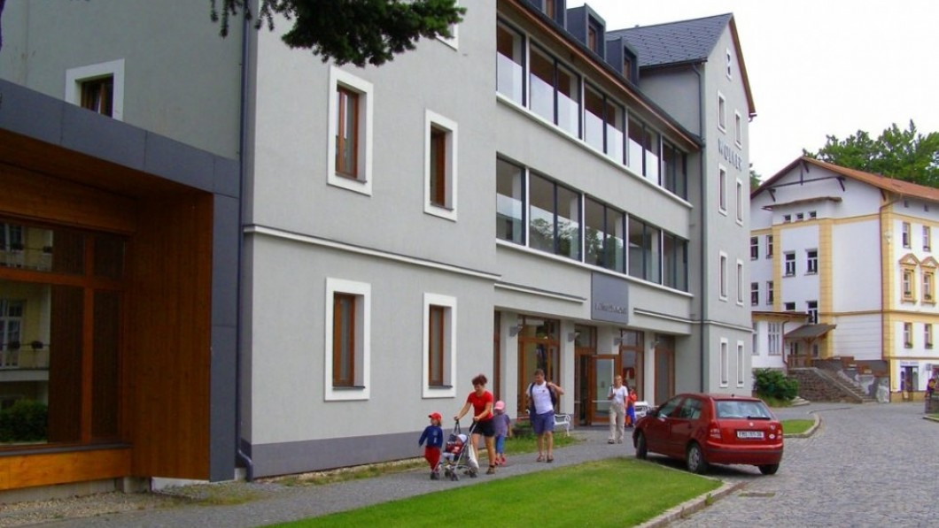Hotel curativo Sanatorio infantil Wolker - Jesenik