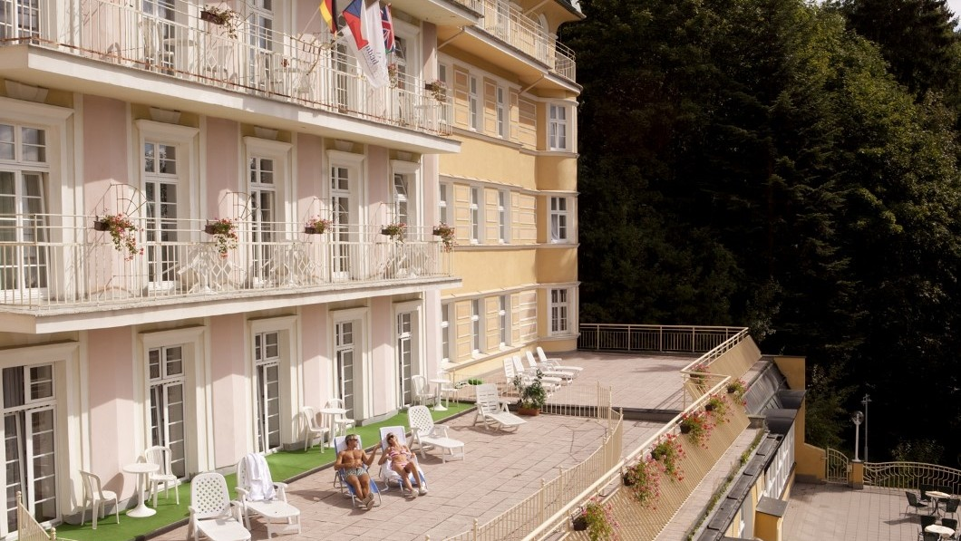 Curative Hotel Vltava - Marianske Lazne Spa