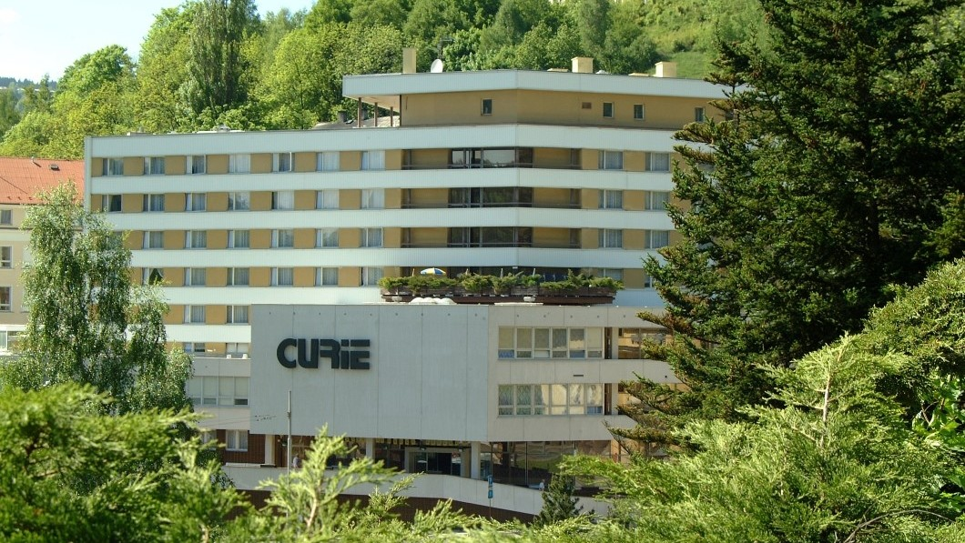 Curative Hotel Curie - Jachymov
