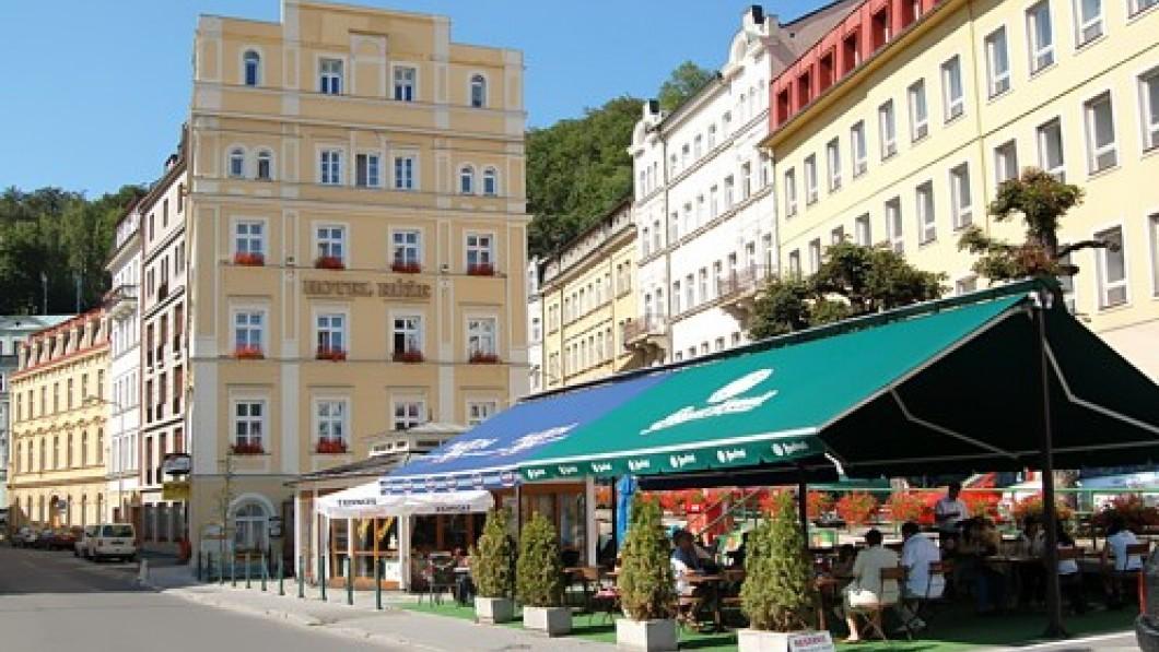 Hotel curativo Hotel Růže - Carlsbad / Karlovy Vary