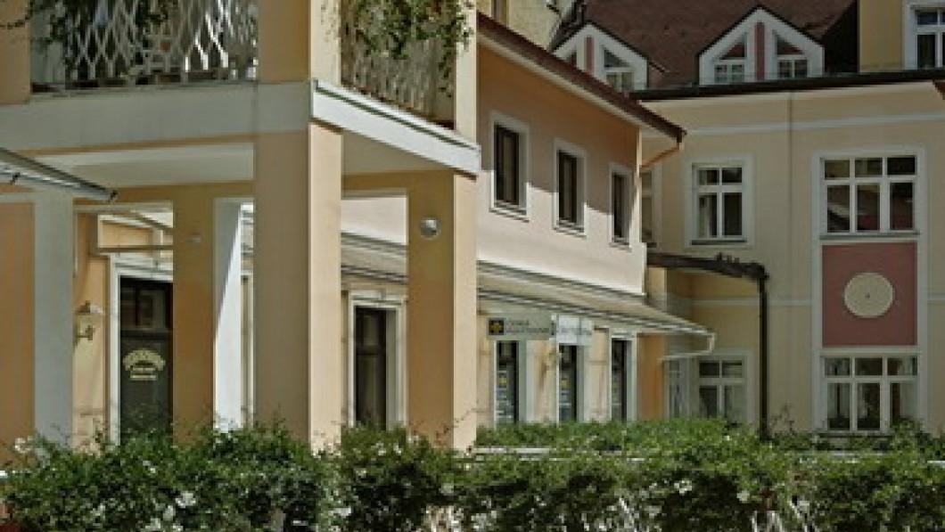 Санаторий Отель Чешский двор / Hotel Český Dvůr - курорт Марианские Лазне/Marianske Lazne