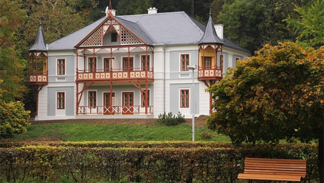 Санаторий Альпийская Роза / Alpska Ruze - курорт Лугачовице/Luhacovice