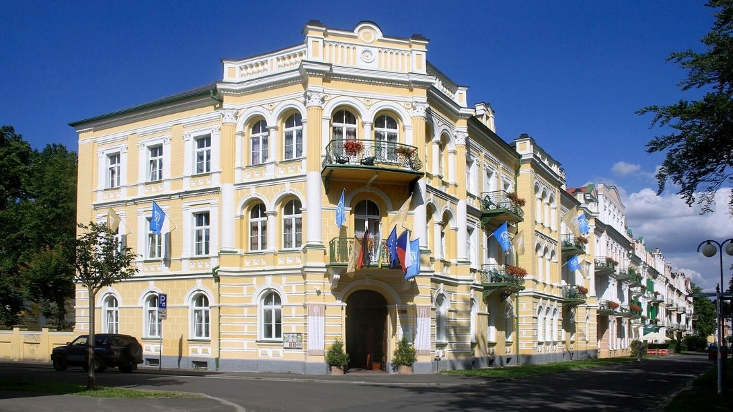 Hotel curativo Spa hotel Metropol - Frantiskovy Lazne